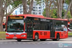 SBST Mercedes-Benz O530 Citaro (SBS6478S) - Service 354