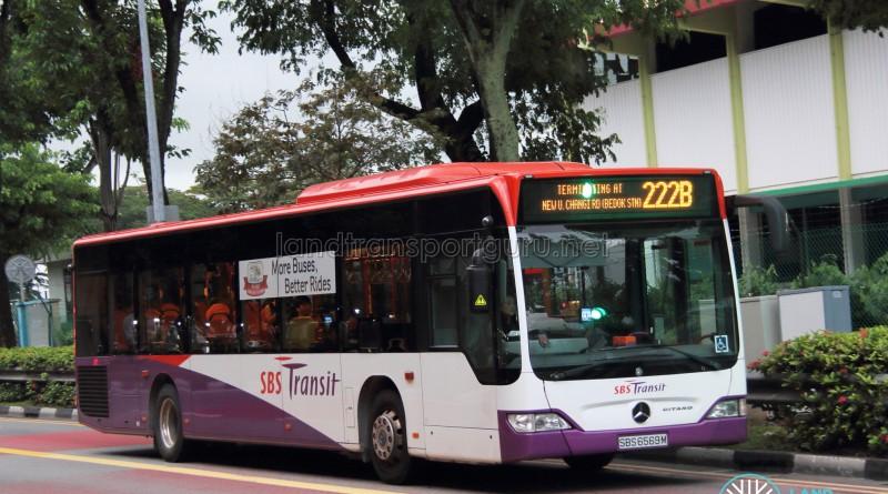 SBS Transit Mercedes-Benz Citaro (SBS6569M) - Service 222B