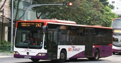 SBS Transit Mercedes-Benz Citaro (SBS6691S) - Service 242