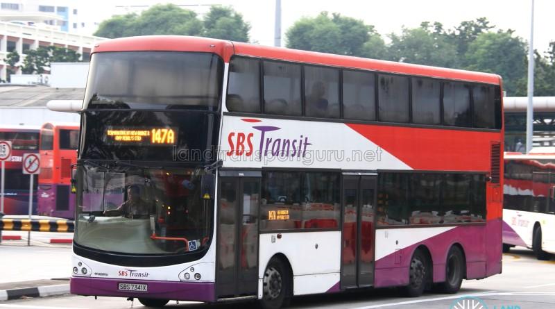SBS Transit Volvo B9TL CDGE (SBS7341X) - Service 147A