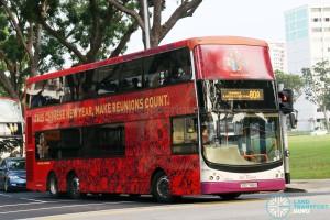 SBS Transit Volvo B9TL CDGE (SBS7461H) - Service 80A