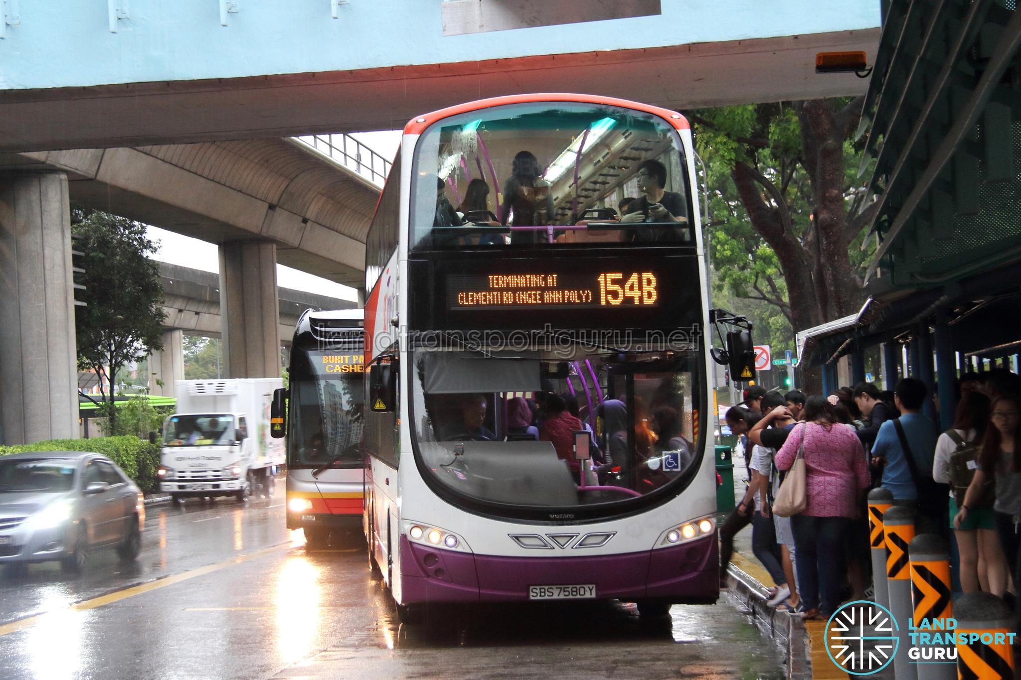 SBS Transit Volvo B9TL Wright (SBS7580Y) - Service 154B