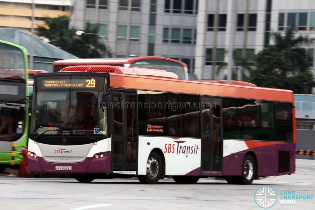 SBS Transit Scania K230UB (SBS8522J) - Service 29