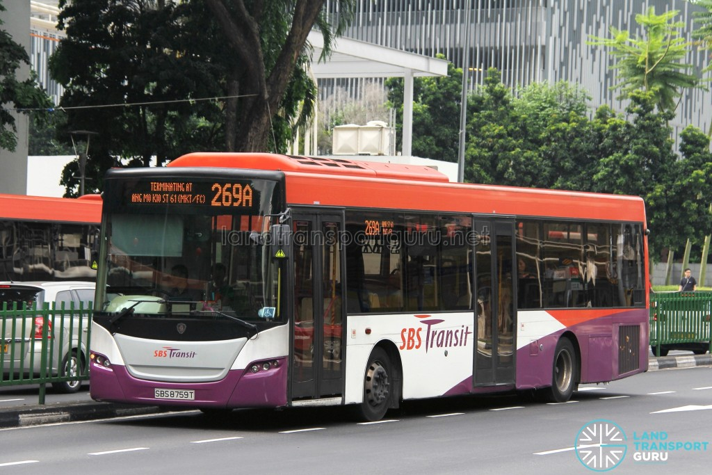 SBS Transit Scania K230UB (SBS8759T) - Service 269A