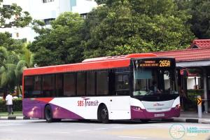 SBS Transit Scania K230UB (SBS8968G) - Service 265A
