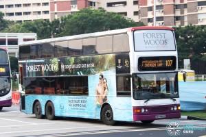SBS Transit Dennis Trident (SBS9683X) - Service 107