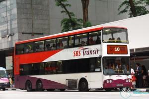 SBS Transit Volvo B10TL (SBS9805L) - Service 10