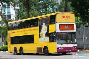 SBS Transit Volvo B10TL (SBS9822L) - Service 65
