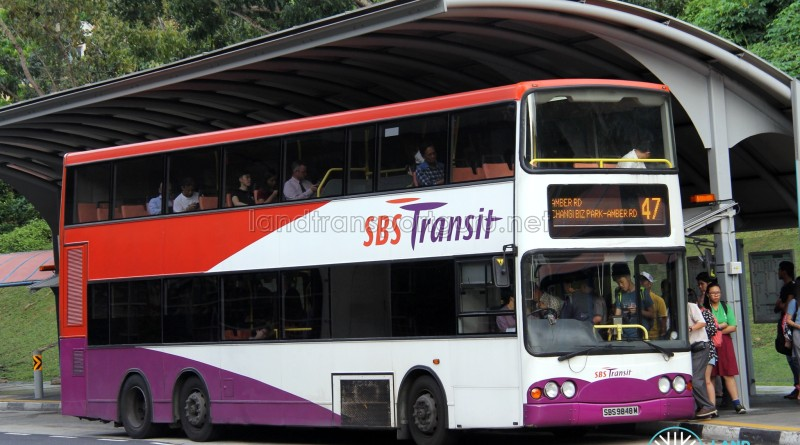 SBS Transit Volvo B10TL (SBS9848M) - Service 47
