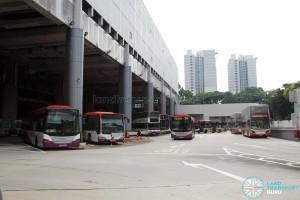 Ang Mo Kio Bus Interchange - Bus Park