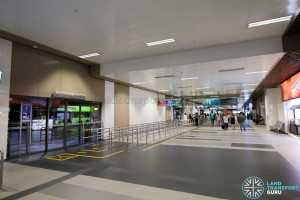 Bedok Bus Interchange - Passenger concourse near Berth B5