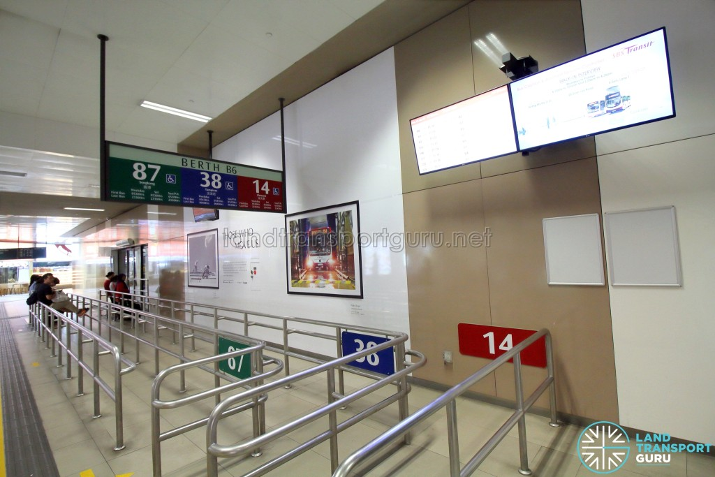 Bedok Bus Interchange - Berth B6
