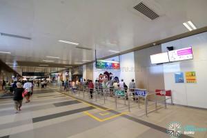 Bedok Bus Interchange - Passenger concourse near Berth B1