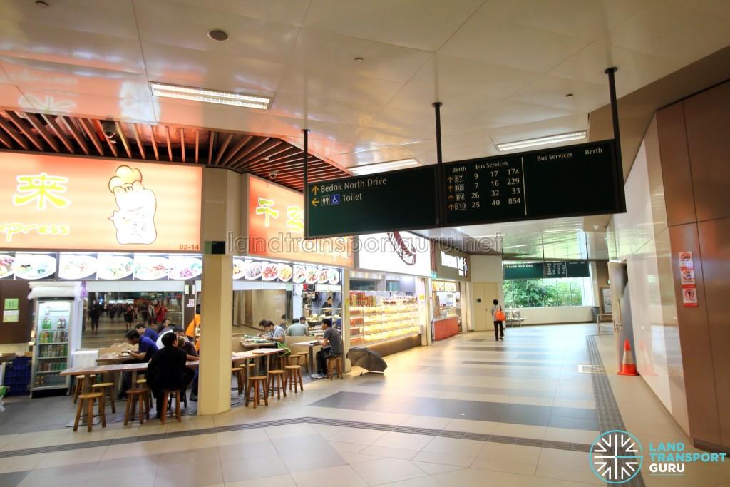 Bedok Bus Interchange - Retail outlets