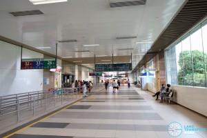 Bedok Bus Interchange - Passenger concourse near Berth B9