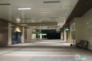 Bedok Bus Interchange - Concourse near Berth B6 (Pre-opening)