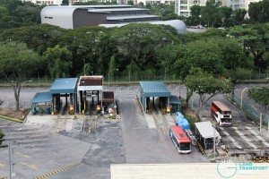 Bedok North Depot - Bus Washing Machines