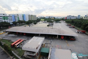 Bedok North Depot - Workshop building and waste disposal