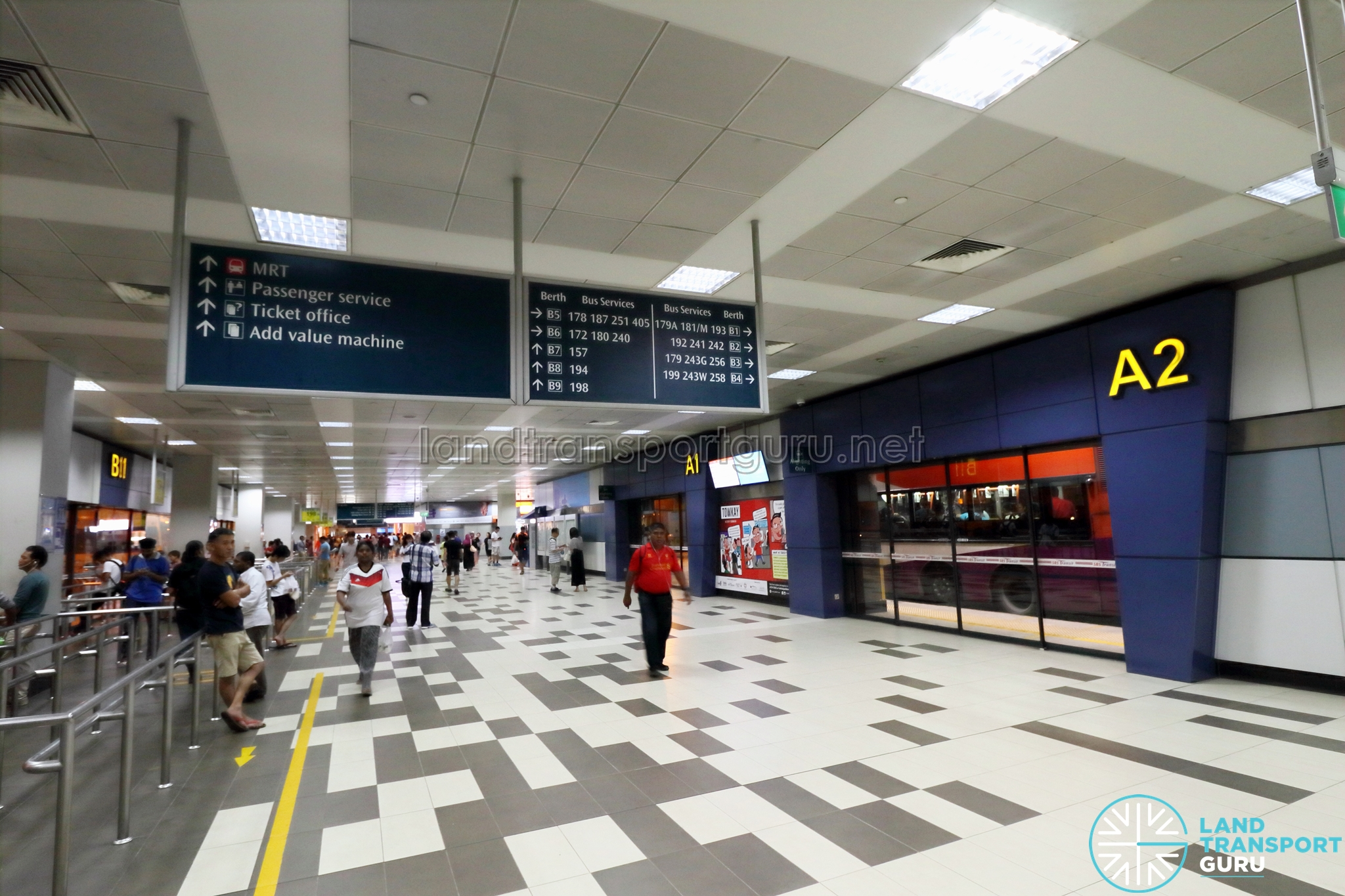 Boon Lay Bus Interchange | Land Transport Guru