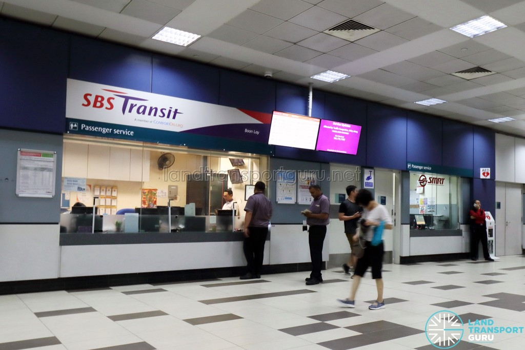 Boon Lay Bus Interchange - Passenger Service Office