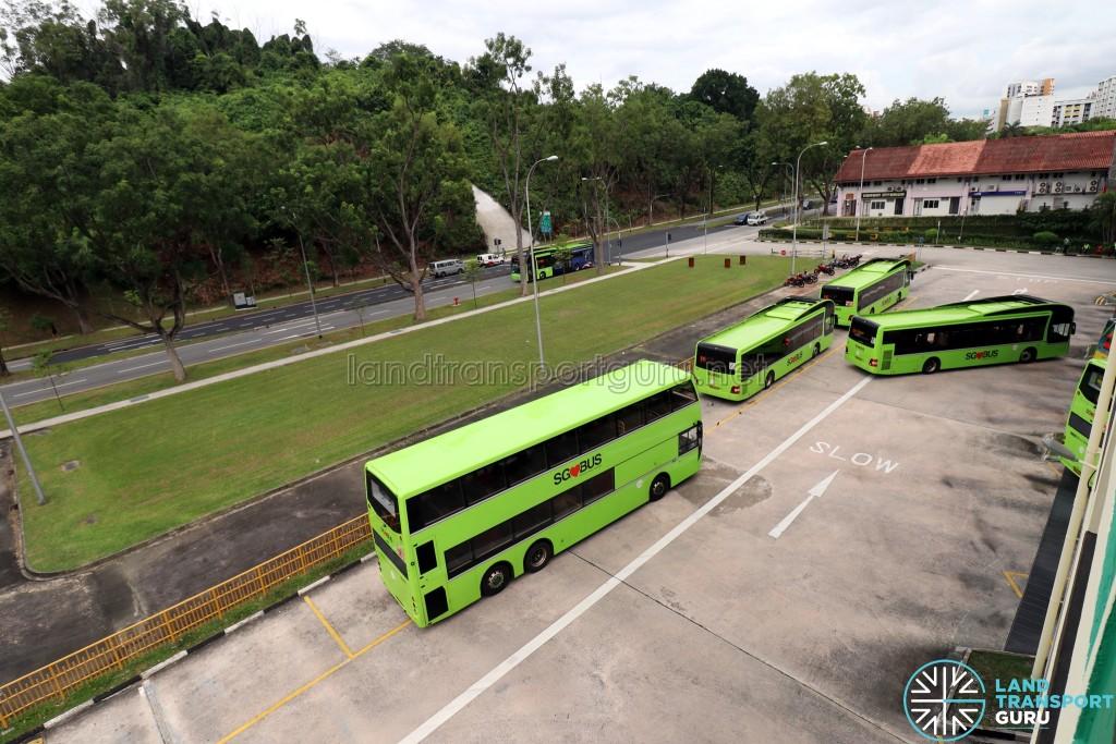 Bukit Batok Bus Interchange - View from Carpark