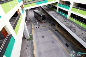 Bukit Batok Bus Interchange - View from Carpark