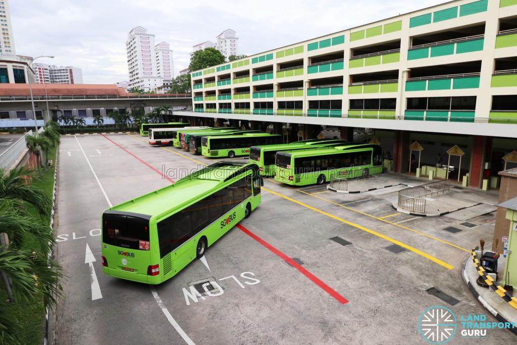 Bukit Batok Bus Interchange - End-on Berths