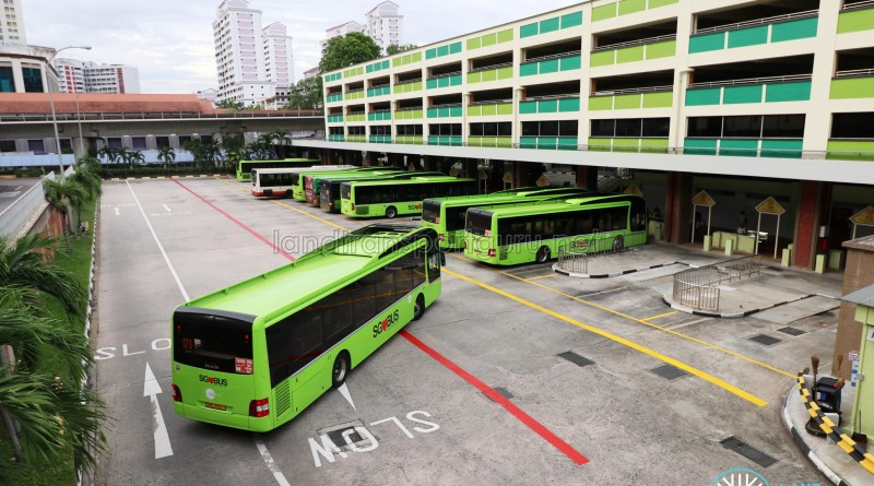 Bukit Batok Bus Interchange - End-on Berths