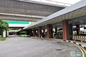 Bukit Batok Bus Interchange - Sawtooth Berths