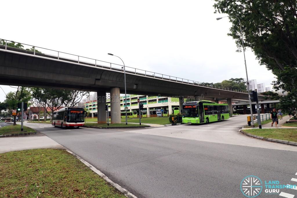 Bukit Batok Bus Interchange - North concourse exit