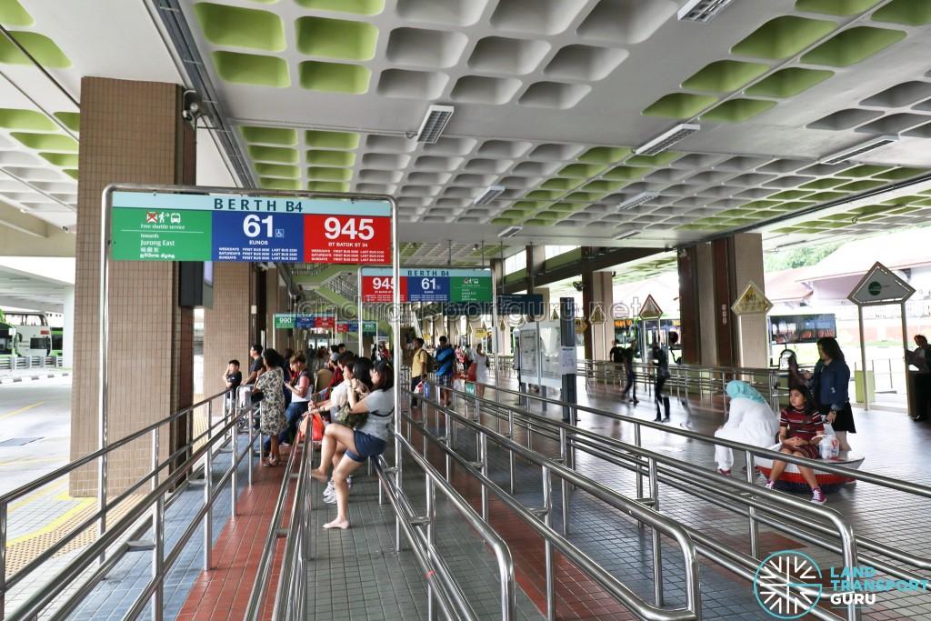 Bukit Batok Bus Interchange - Berth B4