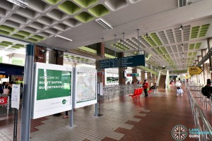 Bukit Batok Bus Interchange - Information Board