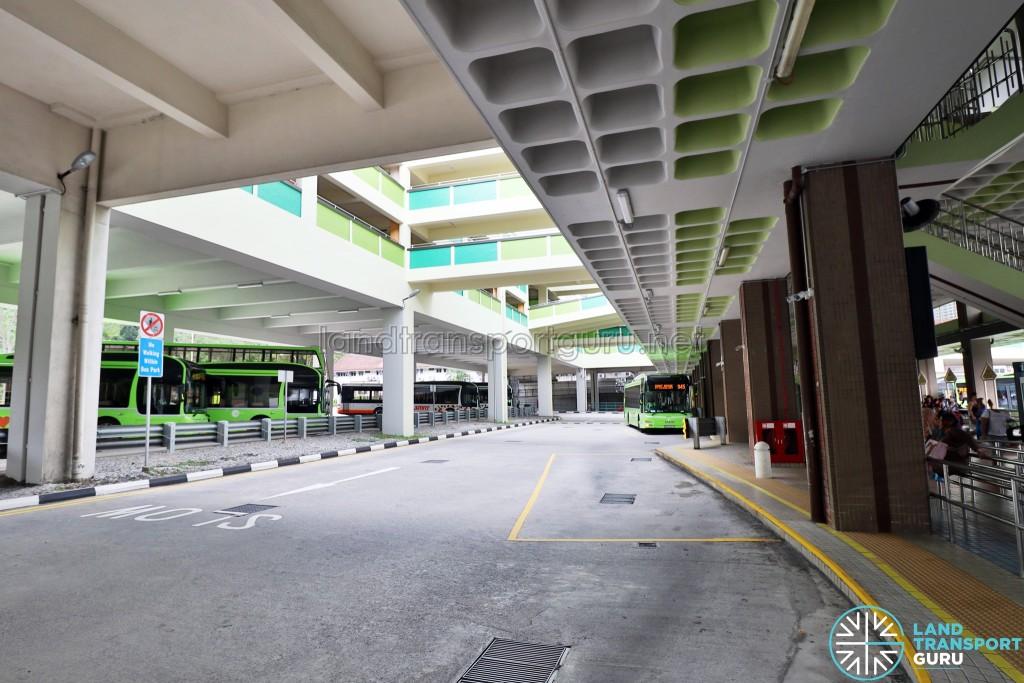 Bukit Batok Bus Interchange - Sawtooth Berths
