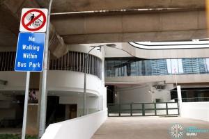 Bukit Panjang Interchange - Petir Road ingress