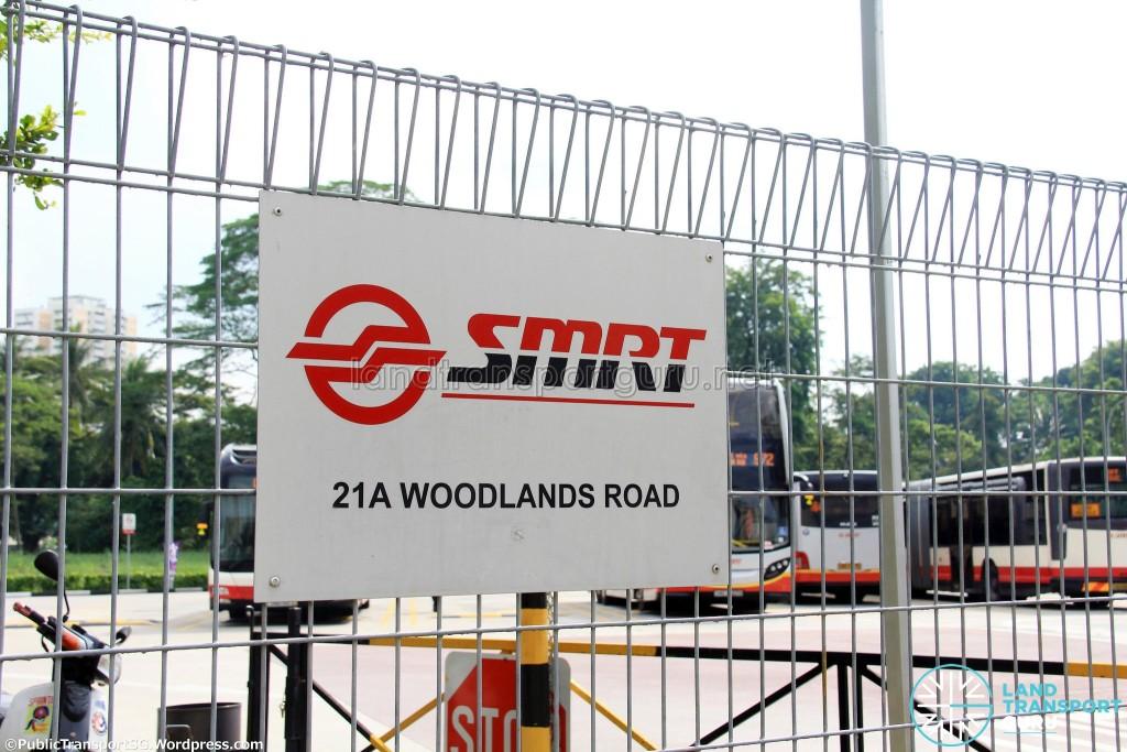 Entrance signage
