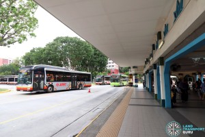 Choa Chu Kang Bus Interchange - Alighting Berth