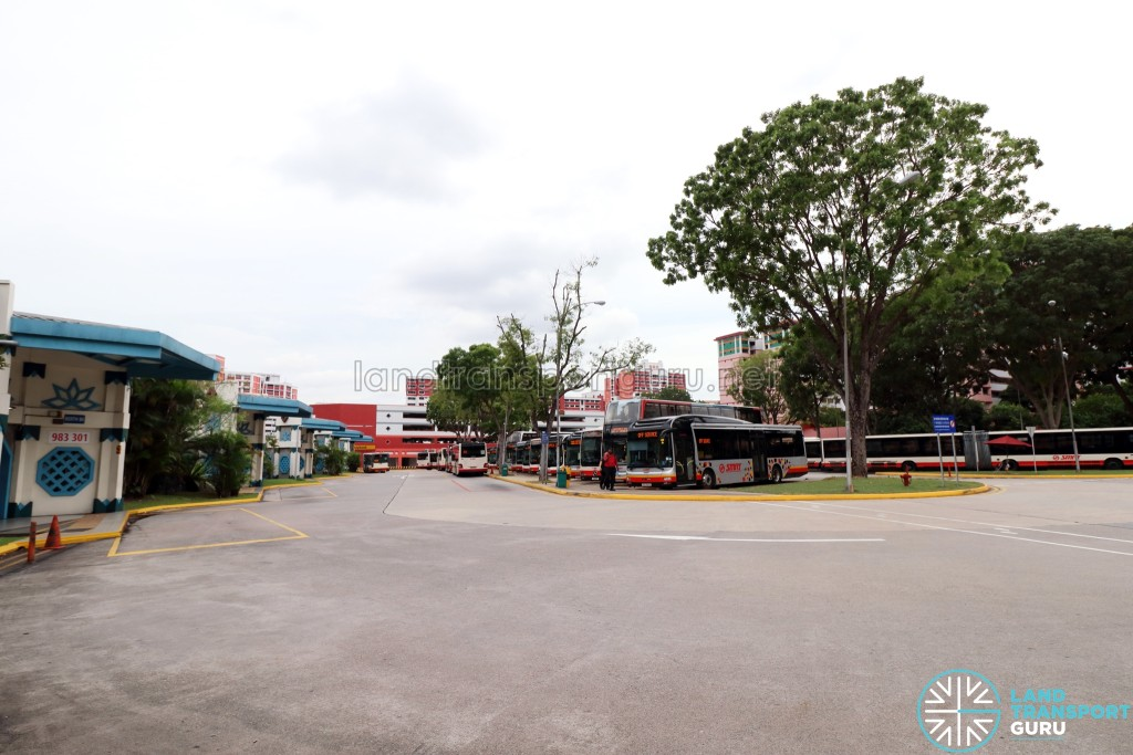 Choa Chu Kang Bus Interchange - Bus Park