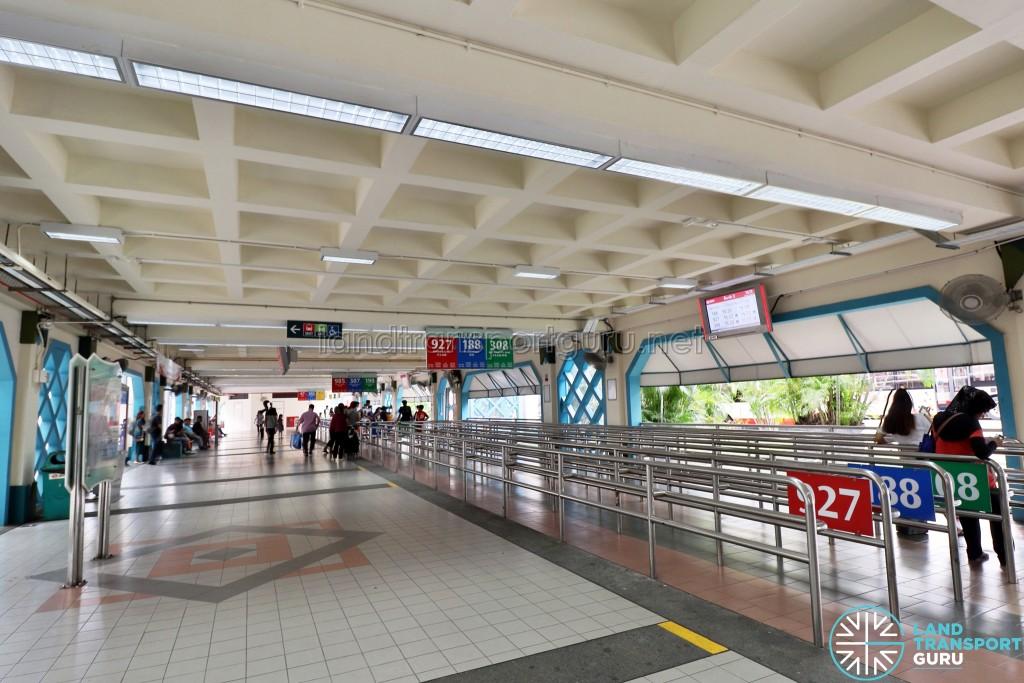 Choa Chu Kang Bus Interchange - Concourse near Berth 3