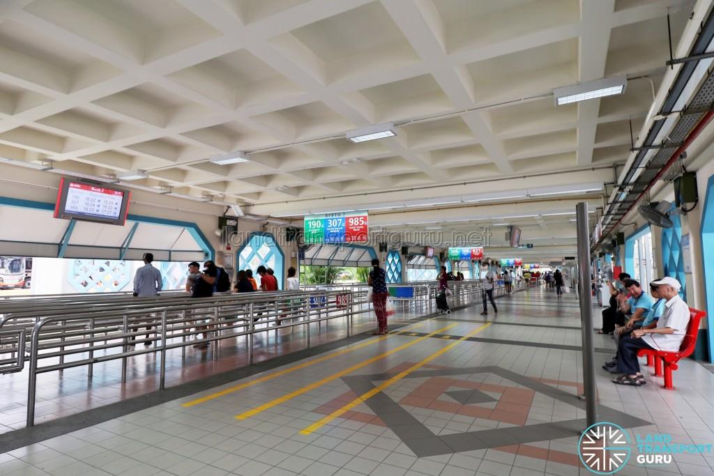 Choa Chu Kang Bus Interchange - Concourse near Berth 2