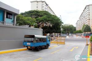 Clementi Bus Interchange - Exit ramp
