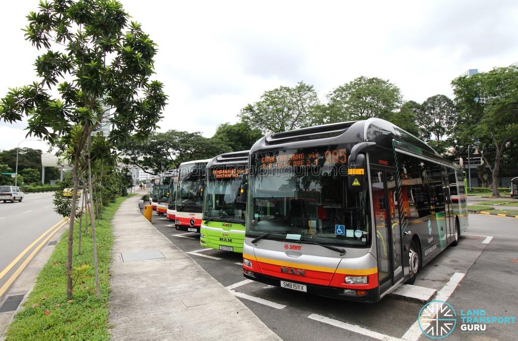 Geylang Lorong 1 Bus Terminal - Angled lots