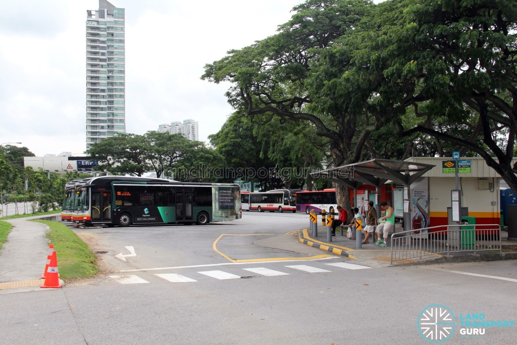 Lorong 1 Geylang Bus Terminal - Front view