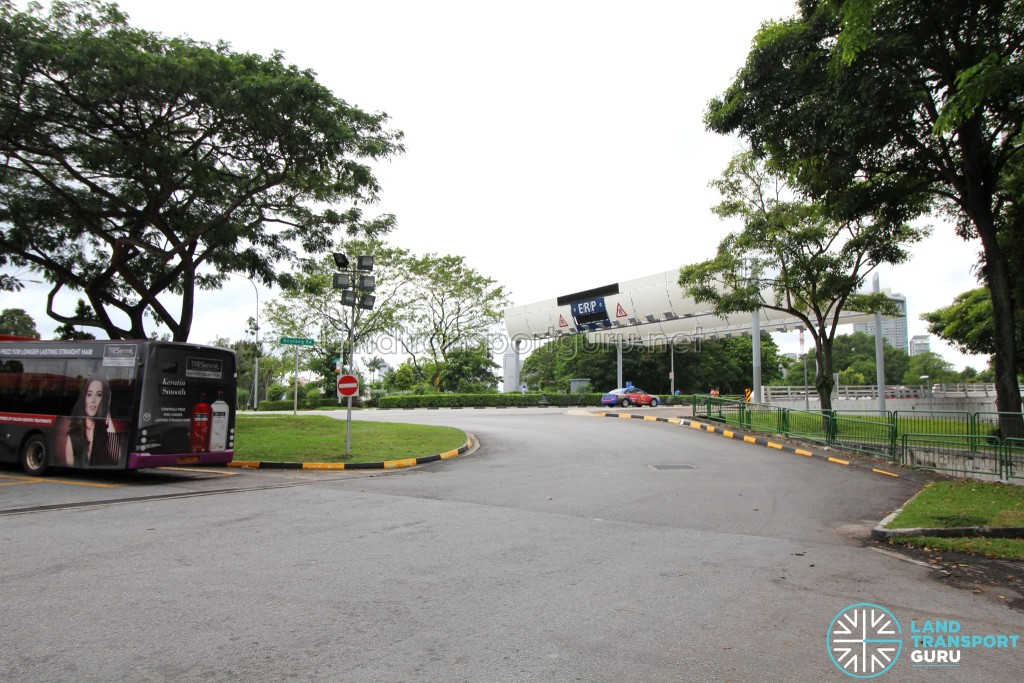 Lorong 1 Geylang Bus Terminal - Vehicular entrance from Geylang Road