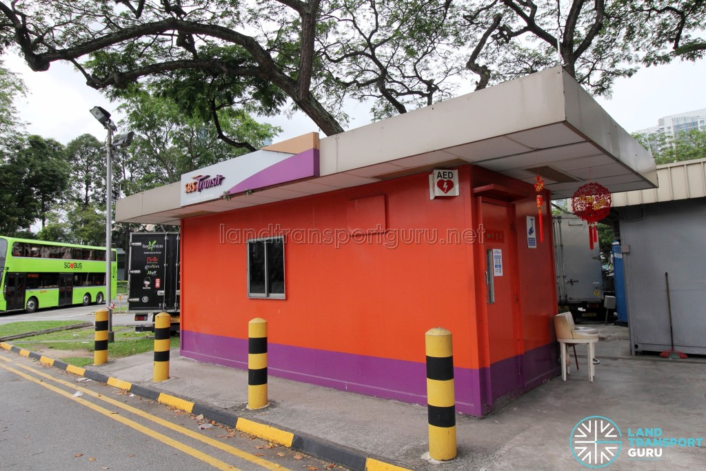 Lorong 1 Geylang Bus Terminal - SBS Transit Office & Drivers' lounge