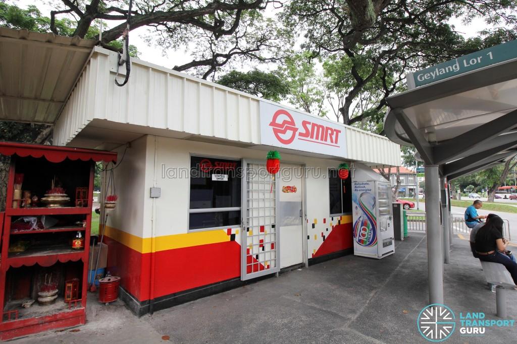 Lorong 1 Geylang Bus Terminal - SMRT Office & Drivers' lounge