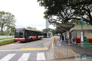 Lorong 1 Geylang Bus Terminal - Boarding bus stop