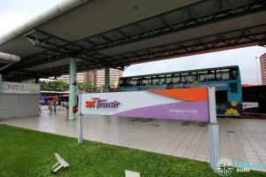 Hougang Central Bus Interchange - Interchange signage