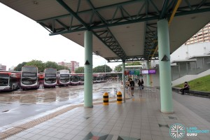 Hougang Central Bus Interchange - Concourse near Berth B5
