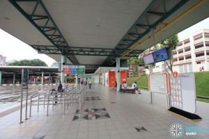 Hougang Central Bus Interchange - Concourse near Berth B4