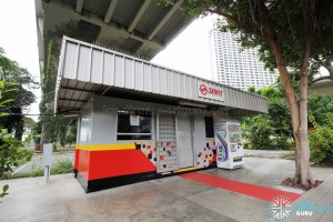 Marina Centre Bus Terminal - SMRT container office